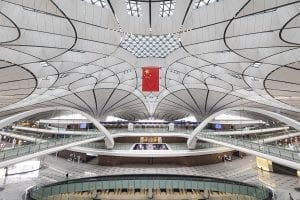 Facts about Zaha Hadid AIrport Beijing China
