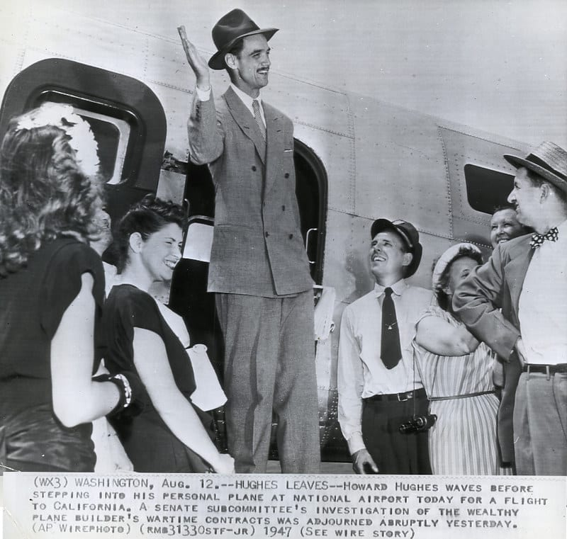 facts about Howard Hughes