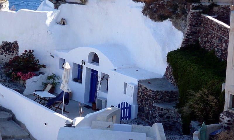 facts about santorini