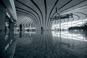 fun facts about Zaha Hadid Airport, Beijing