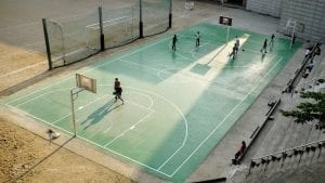 teach basketball