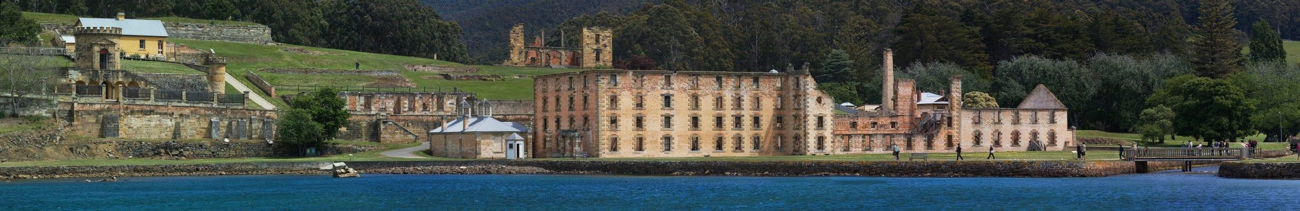 Port Arthur, a world heritage site in Tasmania