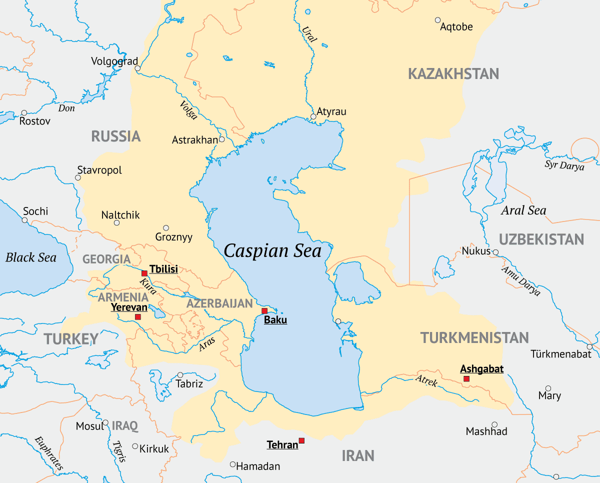 facts about the Caspian Sea