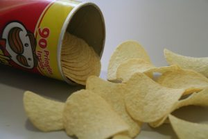 A Pringles Can