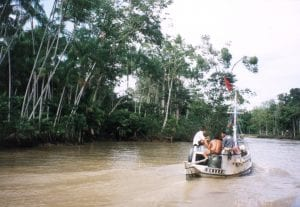 Amazon River by Boat