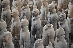 fun facts about the terracotta army