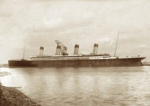 Titanic at Belfast docks