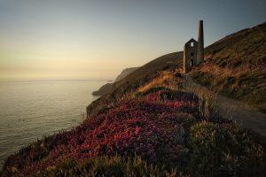 an ancient Cornish tin mine