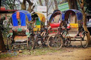 Bangladeshi Ricksaws