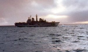 HMS Invincible, 1982