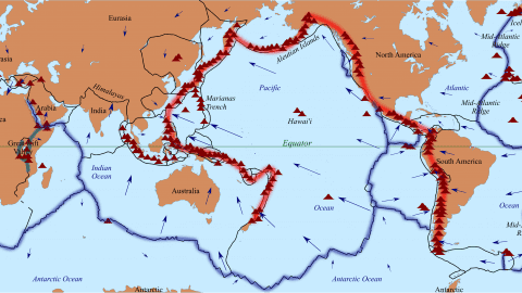 Facts about the Ring of Fire