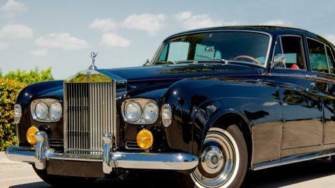 a 1950s Rolls Royce
