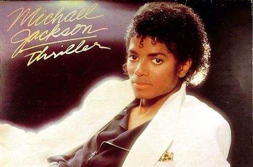 Thriller Album Cover by Michael Jackson