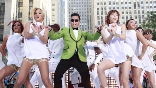 Gangnam Style Dance In A Parade