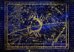 Cancer stars constellation